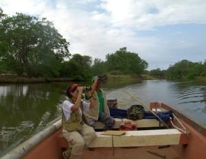 Paseos en el río Unare con Claudio Bucán, foto cortesía Siempre Verda Veenzuela