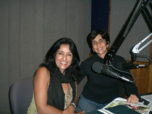 Con Zulma Bolívar en el programa radial Planeta Vital