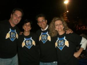 Ettore Leccese, Marisela Valero, Federico Estaba y Helena Scannone de COMCURUMO