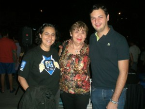 Nidia Hernández, Doris Morillo y Eduardo Andrés Guerrero