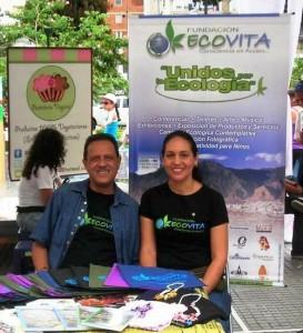 Silvia Arteaga y Gustavo Bonet de Ecovita