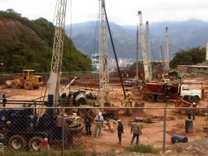 Daño ambiental en la construcción de la cementera de Santa Mónica. Foto cortesia de Wilter Ochoa