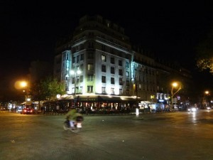 París nocturna, foto cortesía Marcos Valero
