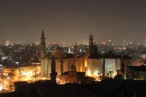 El Cairo de noche, cortesía de Eva Kralinger