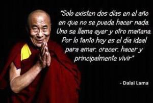 Dalai Lama, líder espiritual del budismo tibetano y actual dirigente del Gobierno tibetano en el exilio.