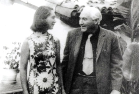Jane con Louis Leakey