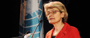 Sra. Irina Bokova, Directora General de la UNESCO