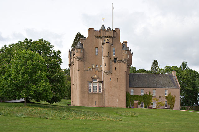 Castillo de Crathes, en Aberdeenshire .Foto BBC
