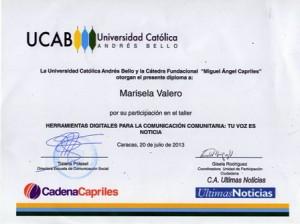 Certificado taller UN172