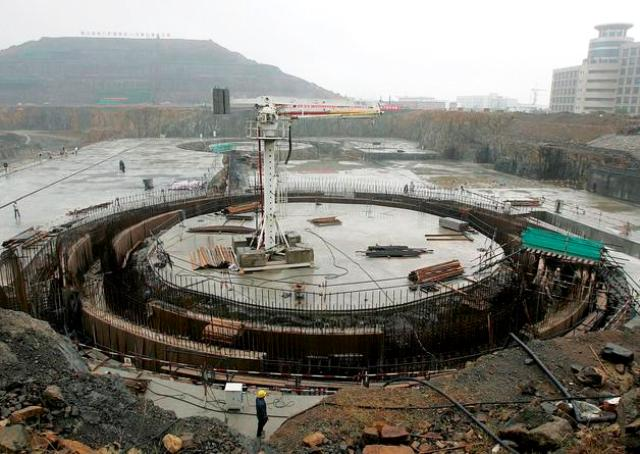 CHINA CONSTRUCCIÓN DE PLANTA NUCLEAR