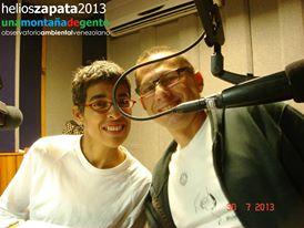 Cristina Vaamonde y Helios Zapata