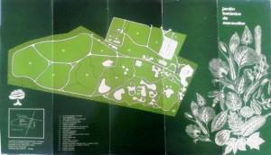 Planos del Jardín Botánico de Maracaibo