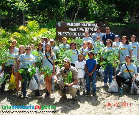El Waraira Repano es el lugar predilecto de UMDG para realizar su labor ambientalista