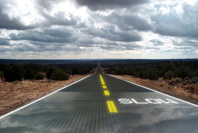 Planeta Vital: solar road