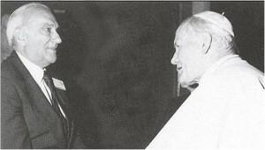 Juan Pablo II y Convit. Dos seres unidos por un mismo don, el servicio a la humanidad
