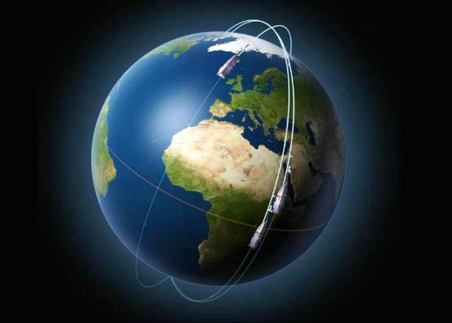 ESA estudia los campos magnéticos de los polos, mediante los satélites Swarm. Foto ESA