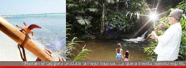Flautas de Amor para sanarnos y sanar el planeta. Foto Flautas de amor para hacer música del corazón. Foto http://flautasdeamor.com/about.html