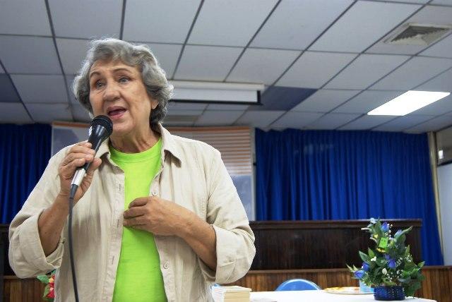 Lutecia Adam dicta charlas educativas donde la requieran. Foto cortesía Yaracultura
