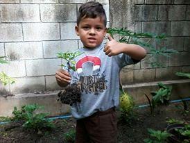 León Enrique Díaz Salvati, ganador del Reconocimiento Ecologico de la Federación Internacional Ambientalista, foto Marisela Valero