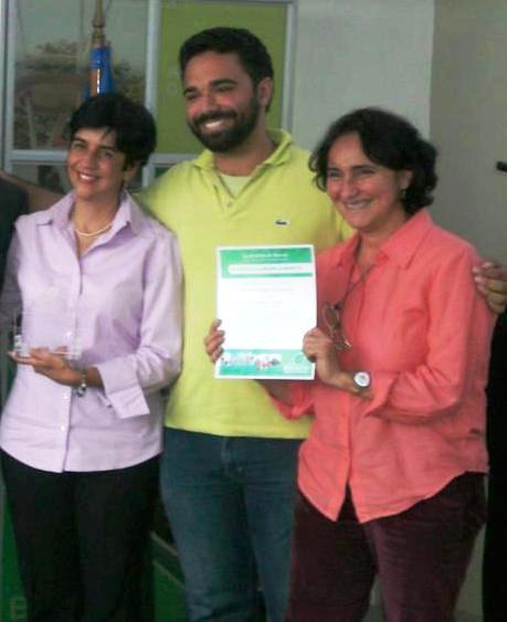 El equipo de Planeta Vital, Nidia Hernández, Juan Perfetti y Marisela Valero, foto Flavia Pesci Feltri