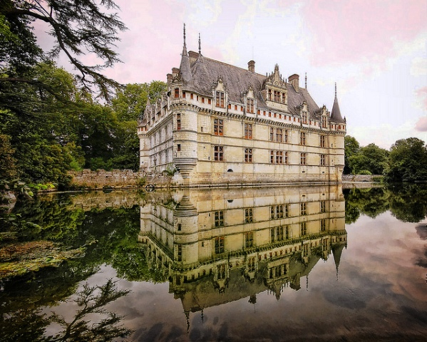 Castillo de Azay-le Rideau,Francia