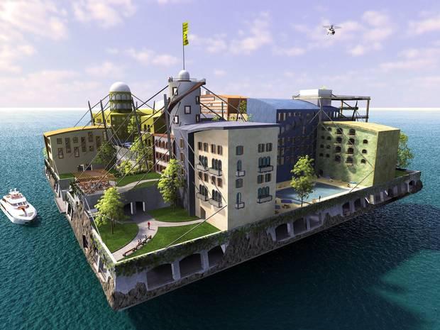 Ciudad flotante