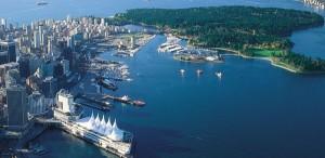 Foto aérea de Vancouver, Canadá. Foto Ecociencia.com