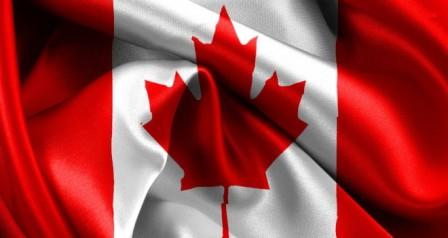 El símbolo del arce en la bandera de Canadá