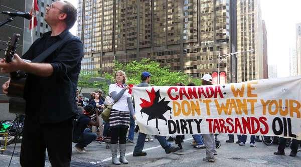 Protestas por la explotación petrolera