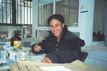 Lic Aurie Fajardo del IVIC. Foto IVIC