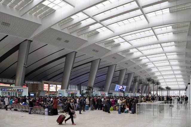 Imaginen llegar a la estación de trenes en Beijing y dos días después bajarse en New York
