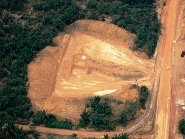Deforestación criminal en Amazonía de Brasil. Foto Greenpeace