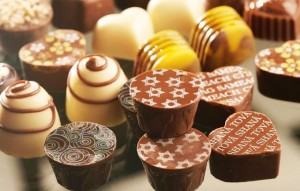 Bombones de chocolate, un manjar internacional