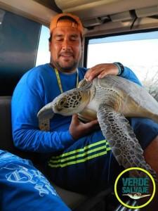 Héctor Barrios, foto Verde Salvaje