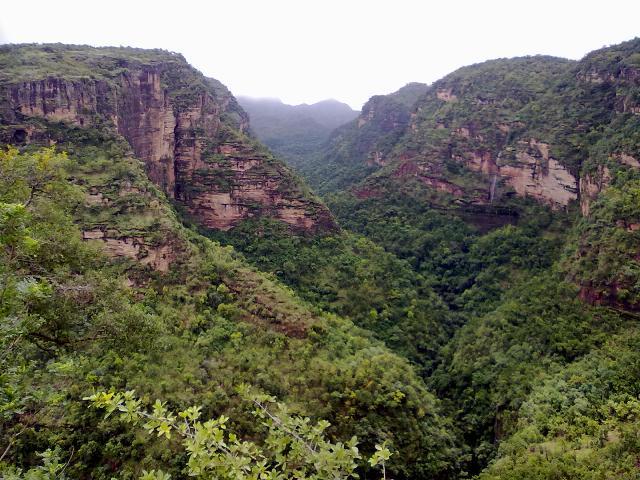 El  hermoso Valle de Madhya Pradesh INDIA