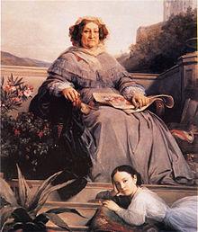 Retrato de la viuda Clicquot Ponsardin