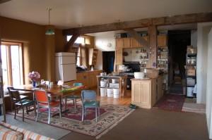 En Dancing Rabbit Ecovillage prevalece el confort