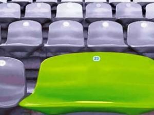 En en Mundial de Brasil 2014 se usaron asientos especiales para obesos en los estadios