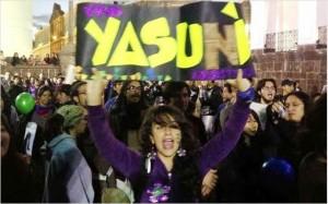 Todos se suman a la defensa de su Parque Yasuní