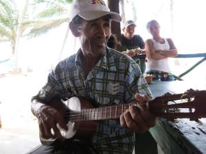 Roque Urbano, cultor popular. Foto Minerva Vitti