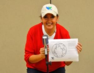 Elizabeth Sánchez Vegas, Comunicadora Social y Presidenta de ISHR. Foto ISRH