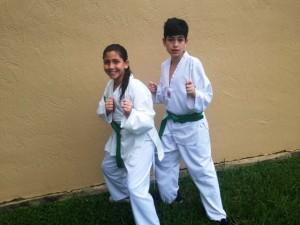 Italo entrenando y desarrollando habilidades especiales