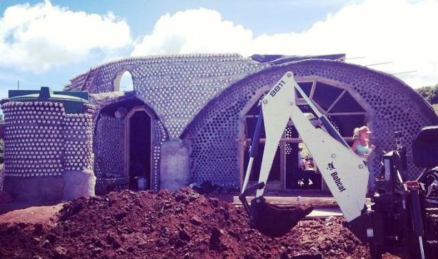 En plena construcción