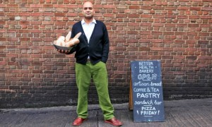 Ashwin Matthews, of the Better Health Bakery Photograph: Claudia Janke/Guardian