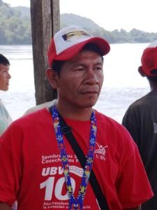 Magdaleno Cortes Presidente de la organización Kuyujani