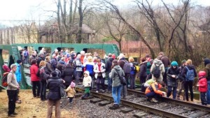 El público plenó la Jornada de las Ferrovías Olvidadas