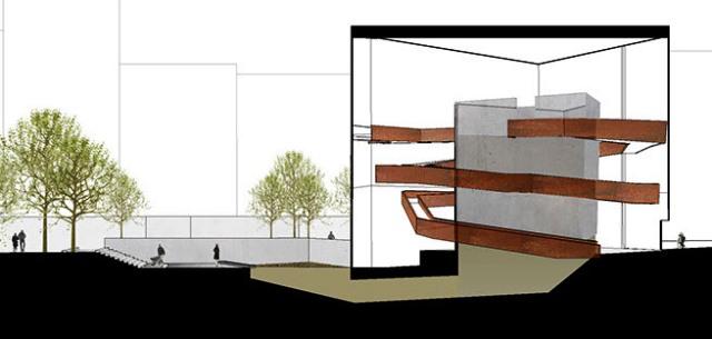 Urban Death Project; Sistema ideado por la arquitecta