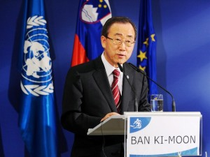 Ban Ki Moon, Secretario General de la ONU