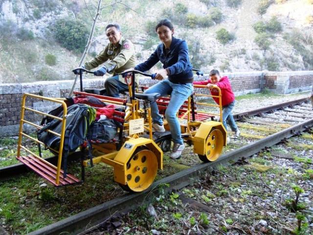 Jornada de las Ferrovías Olvidadas usando todos los medios posibles