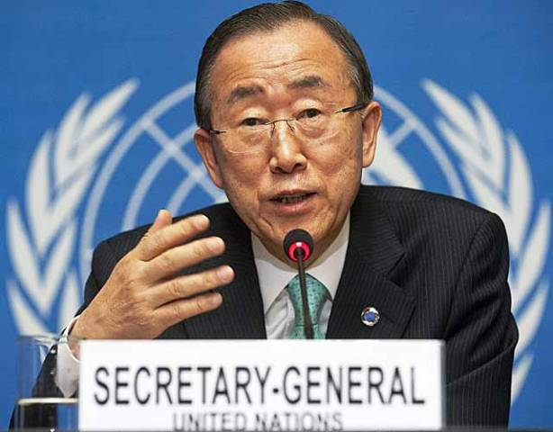 Secretario General, Ban Ki-moon